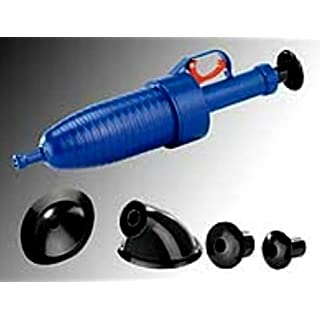 AGT Drain Cleaning Air 3.5Bar with 4Attachments for all sinks