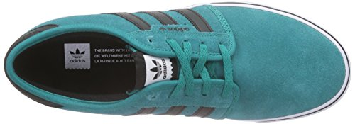 adidas Seeley, Baskets Basses Homme Grün (Eqt Green S16/Core Black/Ftwr White)