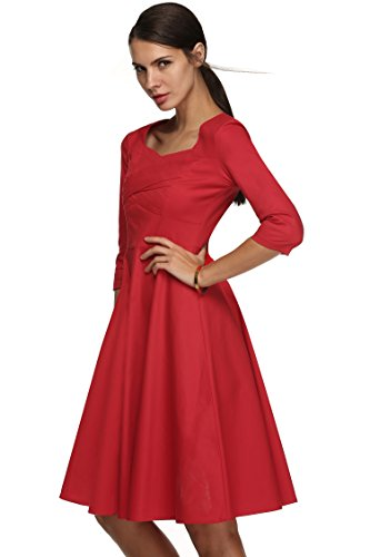 cooshional - Robe - Femme Rouge