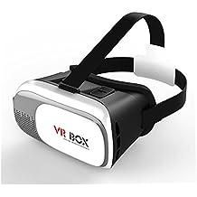 """YOUmeSKY VR Headset Caja de Realidad Virtual 3D VR Box Ultimas Actualizaciones II Gafas Realidad Virtual Teléfonos 3D para iPhone y otros teléfonos celulares de 4.7 """"-6.0"""" para la UEFA EURO 2016 (3D VR Box Only)"""