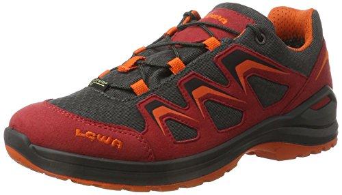 Lowa Innox Evo GTX Lo Junior, Scarpe da Escursionismo Unisex – Bambini, Rosso (Rot/Orange), 28 EU