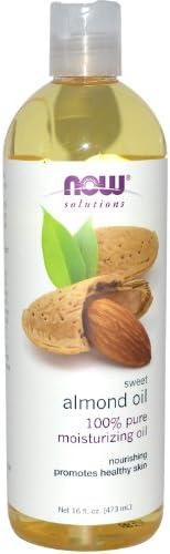 محلول زيت اللوز الحلو من ناو فودز، 16 اونصة سائلة (473 مل)