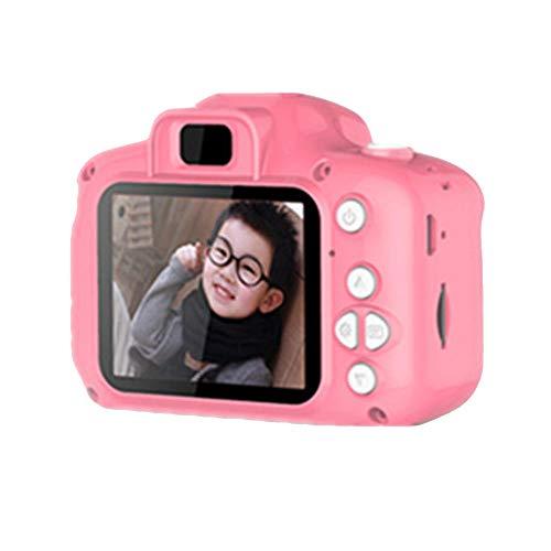 Turspit Niños 2,0'HD Digital De La Cámara De Dibujos Animados Tomando Fotos Juguete De La Foto Agradable (Rosa)
