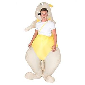 Bodysocks® Disfraz Hinchable de Canguro Adulto