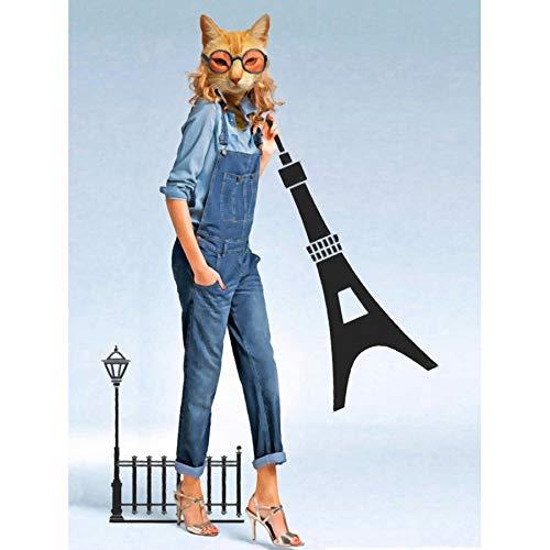 Doppelganger33 LTD Catwoman Cat Spectacles Giant Wall Art Large Art Print Poster Wall Decor 18x24 inch