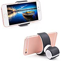 thanly supporto universale per manubrio bici auto Air Vent Mount Culla Supporto per iPhone SE 6 6S Plus 5 5S 5 C 4 4S HTC Galaxy S7 S6 Edge Plus S5 S4 S3 Note 2 3 4 5 7 LG GPS - Pink Umbrella Passeggino