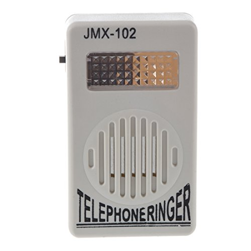 REFURBISHHOUSE RJ11-Buchse Laut Telefon Klingelton Ring Lautsprecher Amplifier Telefon-klingelton
