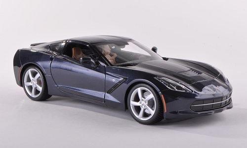 chevrolet-corvette-stingray-c7-met-dkl-blau-2013-modellauto-fertigmodell-maisto-118
