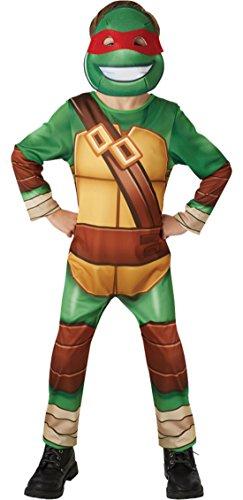 erdbeerloft - Jungen Karneval Kostüm Ninja Turtle Hero , Mehrfarbig, Größe 98-104, 3-4 Jahre (Donatello Hund Kostüme)