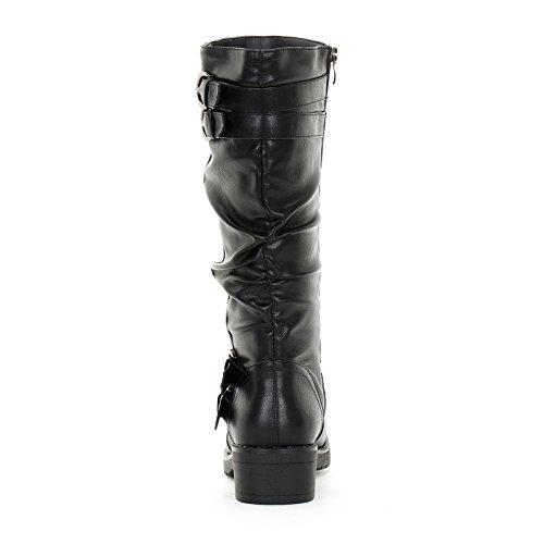 PRENDIMI by Scarpe&Scarpe - Stiefel mit Schnallen, mit Absätzen 4 cm Schwarz