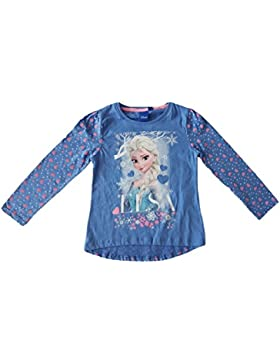 Disney - T-shirt mangas largas Frozen El reino del hielo - 5 ANS, Bleu