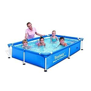 41dOPCuOQ5L. SS300  - Bestway 102 x 67 x 24-inch 2300L Deluxe Splash Frame Pool