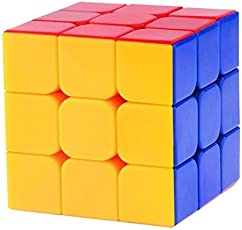 Shop Grab High Stability 3D Magic - 3X3X3 Speed Cube, Multi Color