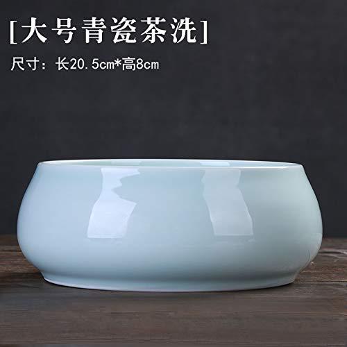 GBCJ Waschen Sie Das Teeset mit großformatigem Tee, waschen Sie Seladon, grobe Keramik, Töpferwaren, Obst, Tee und Zubehör, Waschen Sie den grünen Grüntee