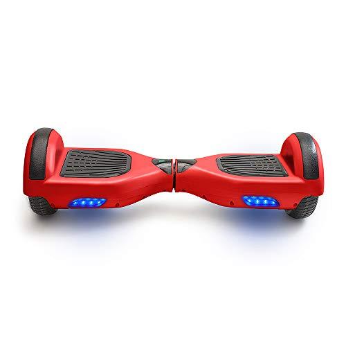 """ACBK Hoverboard Scooter Elettrico Autobilanciato 6.5"""" (Rosso)"""