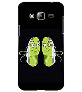 SAMSUNG GALAXY J3 SHOES Back Cover by PRINTSWAG