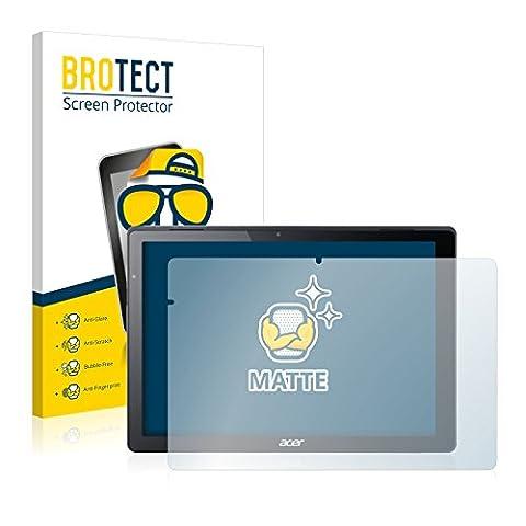 2x BROTECT Matte Film Protection pour Acer Switch Alpha 12 Protection Ecran - Mat, Anti-Réflets