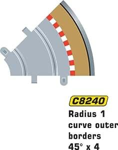 MKD - Circuit voitures - Bordures et barrières