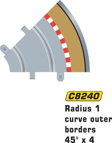 Super Slot 500008240 Curva borde exterior circuito