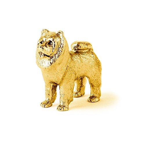 chow-chow-made-in-uk-collezione-statuetta-artistici-stile-cani-con-la-placcatura-doro-22-carati