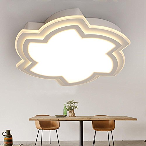 ED kreative Kinderzimmer Schlafzimmer Licht warme einfache Moderne Acryl Lampe, trichromatic Light (Without Remote Control), 40 * 8cm ()