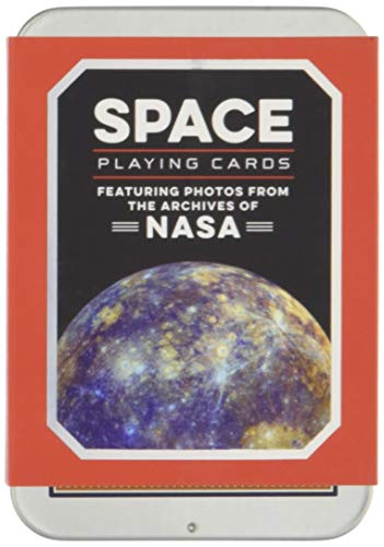 Space Playing Cards: Featuring Photos from The Archives of NASA (Games) por Chronicle Books