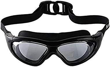 Premium Quality Anti Fog UV Shield Swimming Goggles with Hard Outer Case