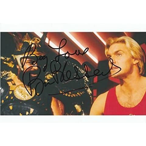 Flash Gordon–Brian Bendecido Original y auténtico Autógrafo firmado AFTAL Coa
