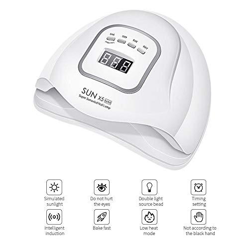 Hook.s UV LED Nagel Lampe 80 W Nagel Trockner, für alle Gele polnischen Sonnenschein Infrarot Erkennung EIS Lampe für Maniküre -