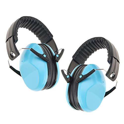 IPOTCH 2er Pack Lärmschutz Kopfhörer Kinder für Konzert, Gehörschutz Kapselgehörschutz Schutzkopfhörer Faltbar (Pack Kopfhörer)