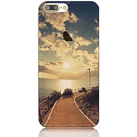 iPhone 7 Plus Funda - [Ultra Slim] Sunroyal Transparente Funda Carcasa Silicona TPU Suave Gel Shell Flexible Bumper Case Shock Protección Gota Anti-Arañazos , Choque Absorción Apple iPhone 7 Plus 5.5