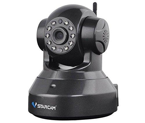 Vstarcam 960P 1,3MP WLAN Sicherheit IP-Kamera w/TF-Schwarz