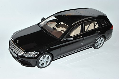 Norev Mercedes-Benz C-Klasse T-Modell Kombi Schwarz Uni W205 Ab 2014 1/18 Modell Auto