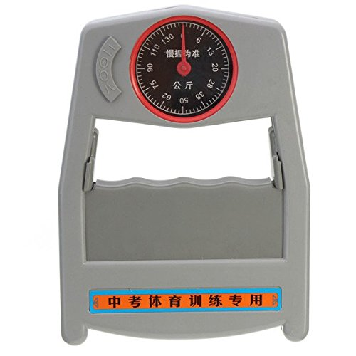 Yongse 0-130Kg dinamómetro la fuerza de agarre de la mano del medidor Medición de fuerza Herramienta de Evaluación