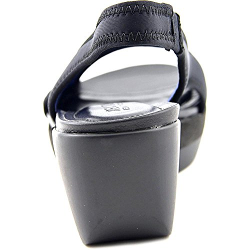 Kenneth Cole Reaction Pepea Play Toile Sandales Compensés Black