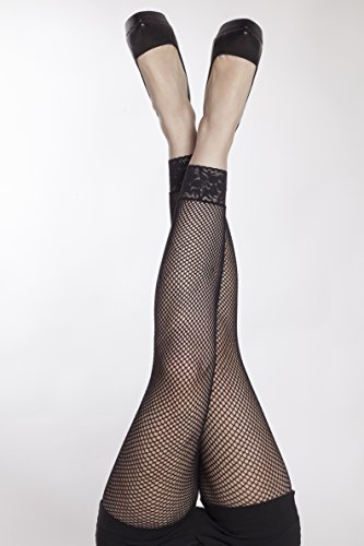 Netz-Leggins, schwarz, Leggins, extravagant, Netzstrumpfhose, Fasching, Halloween, Mottoparty (Süße Mardi Gras Outfits)