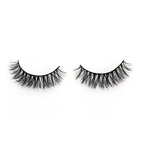 TOOGOO 1 paires 3D faux cils de luxe Longs cils naturels solids Cils pour maquillage A07