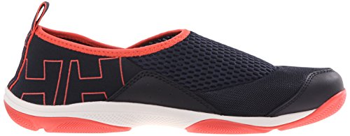 Helly Hansen W Watermoc 2, Scarpe Outdoor Multisport Donna Blu (597 Navy / Sorbet / Night Blue)