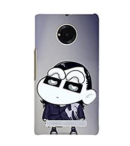 EPICCASE Ching Shang Mobile Back Case Cover For YU YUNIQUE (Designer Case)