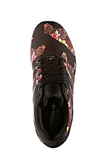 adidas Zx Flux, Scarpe da Ginnastica Basse Donna Nero