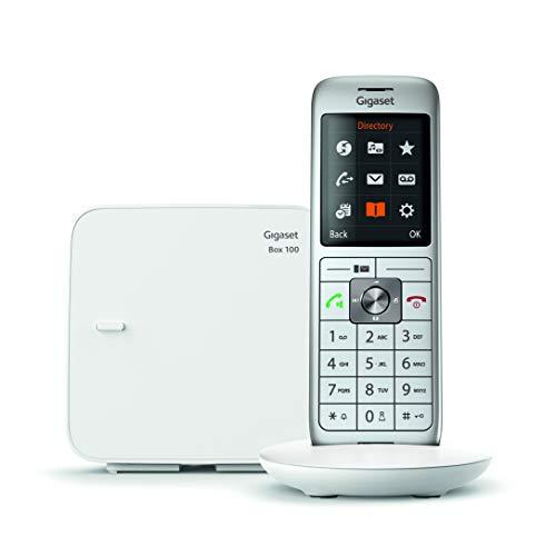 Gigaset CL660 Solo Schnurlostelefon (DECT/Gap), Weiß