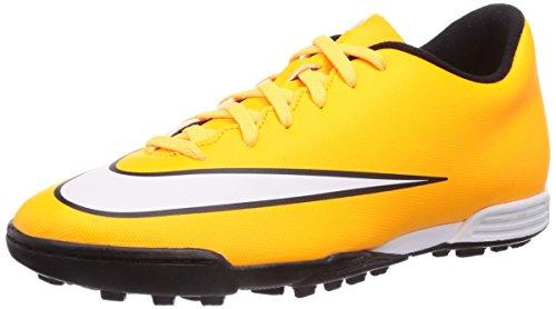 Nike - Mercurial Vortex Ii Turf, Scarpe Da Corsa da uomo, arancione (orange  (laser orange/white-black-volt)), 42