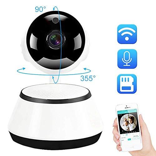 MENRAN Überwachungskamera Mini Security WiFi Ip Kamera Home Wireless Smart Hd 720P Überwachungskamera Zwei-Wege-Audio-Sd-Karte Baby Monitor CCTV P2P Icsee 720P Mit 32G Sd