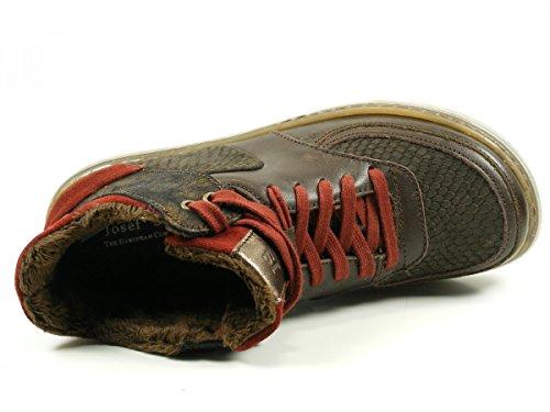 Josef Seibel 85301-VL44 Caro 01 Schuhe Damen Stiefeletten Schnür Boots Braun