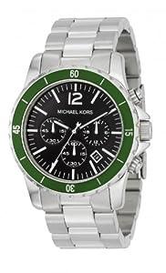 Reloj Micheal Kors MK8141 de cuarzo para hombre con correa de acero inoxidable, color plateado de Michael Kors