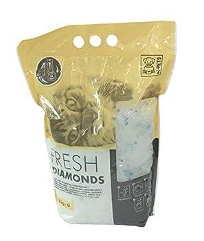 MPETS Fresh Diamonds en Silice Litière pour Chat - Lot de 3