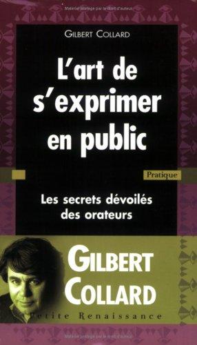 ART DE S EXPRIMER EN PUBLIC