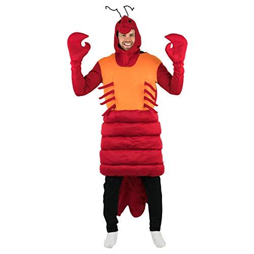 Kostüm Mermaid Sebastian Little - Bodysocks Fancy Dress 5060298047052 Kostüm, Unisex Adult, mehrfarbig, Für Für Erwachsene