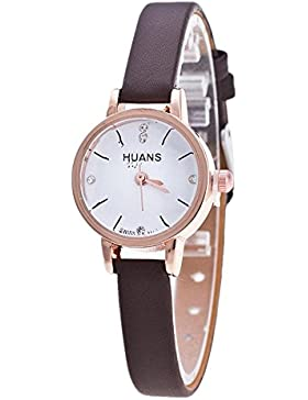 Sunnywill Frauen Mädchen Damen Schöne Mode dünnen Gürtel Strass Gürtel Watch Uhren für Weibliche Studenten