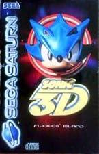 Sonic 3D - Flickies Island - Sega Saturn - UK PAL